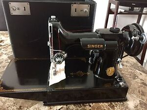 Singer 221 sewing machine featherweight machine à coudre