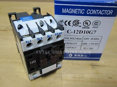 Nhd Magnetic Contactor C-12d10g7