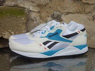 Reebok Classics Bolton UK 12 Runners White Blue Black Sneakers Retro New