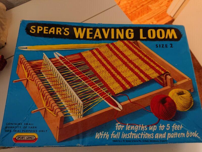 Vintage Spears Weaving Loom Size 2