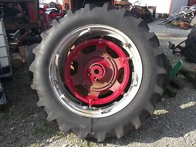 Farmall Ih 560 Sm 656 400 450 Tractor Power Adjust 14 Rim 14.9 X 38 Maxi T Tire
