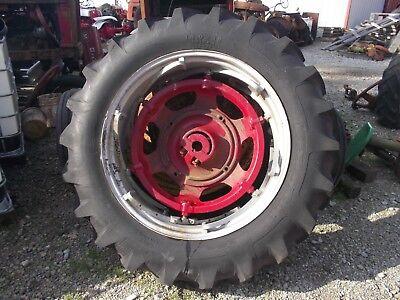 Farmall Ih 560 Sm 656 400 450 Tractor Power Adjust 14 Rim 14.9 X 38 Maxi T Tire