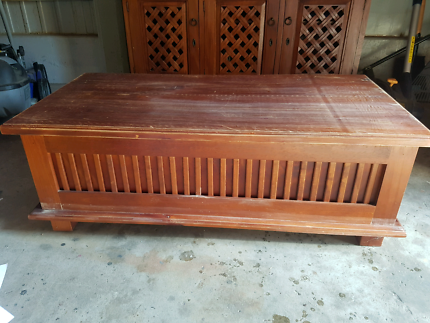 Solid Timber Balinese Coffee Table