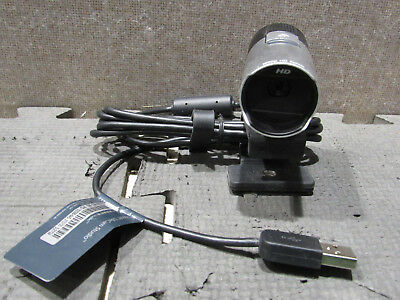 Microsoft 1425 LifeCam Studio Webcam Mini Camera X821857-003 Tested & Working