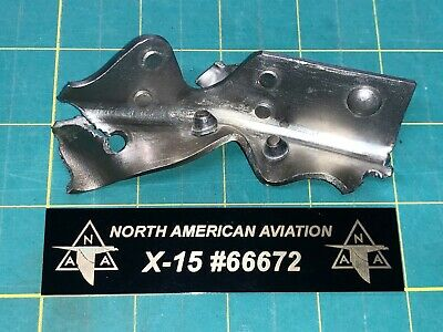 North American Aviation X-15 #66672 Cash Artifact 11/15/1967