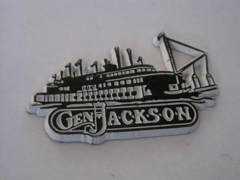 General Jackson Steamboat Magnet