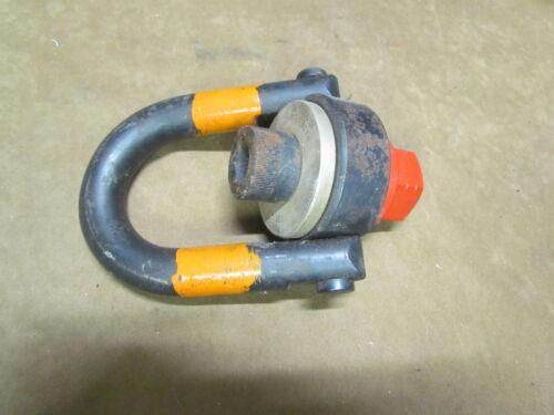 """Jergens 1""""-8 Thread Center Pull Swivel Hoist Ring 10000 Lb"""