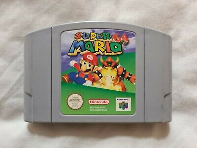 SUPER MARIO 64 Nintendo 64 N64 Game PAL VERSION (5)