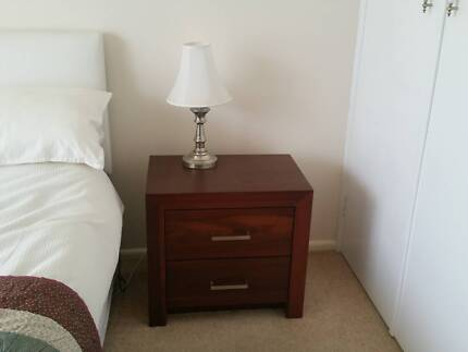 Bedside tables with matching chest of drawers