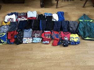 HUGE Lot of 4T Boys Brand Name Clothing
