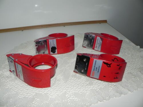 """4 Pre-Owned 2"""" Taper Dispensers From Uline"""