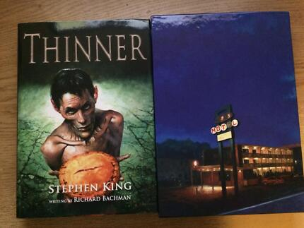 Stephen King - Thinner. Limited Edition. Signed by artists. Rare. Thornbury Darebin Area Preview