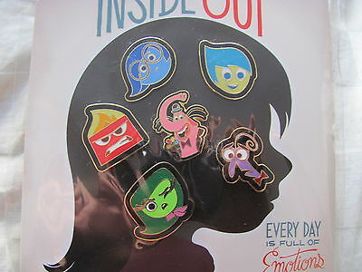 Disney Trading Pins 109725 Inside Out Booster Pack
