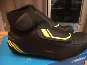 Shimano RW5 winter road cycling shoes. Size 41.