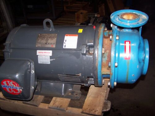 "GOULDS B&G  40 HP STAINLESS END SUCTION CENTRIFUGAL PUMP 2-1/2"" X 2"""