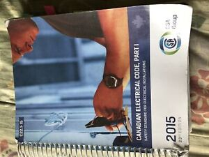 Canadian electrical code book