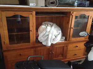 LOOK BEAUTIFUL HARDWOOD CABINET CHEAP AS Beenleigh Logan Area Preview
