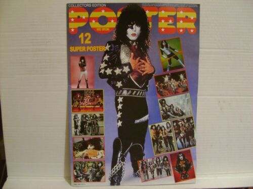 KISS (Paul on cover) Poster Special Magazine Russian re-print RARE