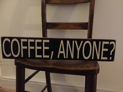 Coffee sign kitchen vintage Shop Cafe Wooden Sign Wood Plaque Old Home
