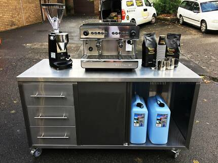 Coffee Machine and Grinder Hire. Weekends, Events, Short term,