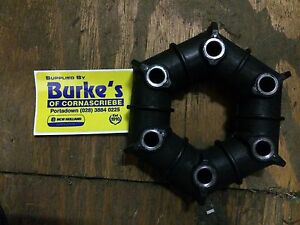 Grass topper rubber donut drive coupling fits Major, Abbey & other grass toppers