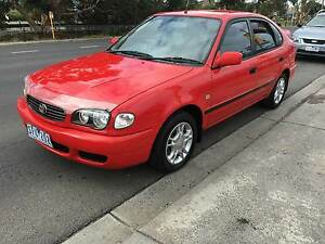 2000 Toyota Corolla Hatchback AUTOMATIC Fawkner Moreland Area Preview