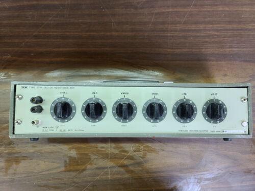Yokogawa 278610 Six-Dial Decade Resistance Box, 0.1 to 111111   Free Shipping