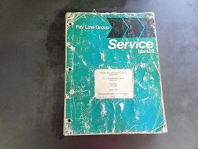 Pay Line Group Model 100125 Series C E Loader Td-7 Td-8 Series C E Manual