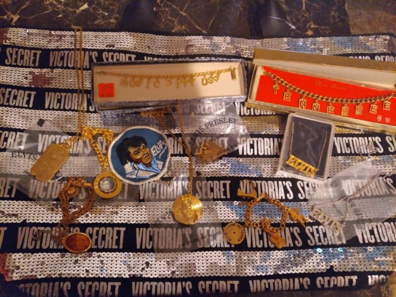 Elvis presley memorabilia lot