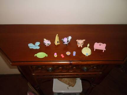 littlest pet shop pets and accsessiores the lot for $6.00 Canning Vale Canning Area Preview