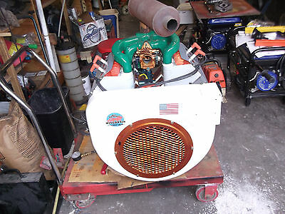 Wisconsin 4 Cylinder W-4-1770 Air Cooled 35 Horsepower Gasoline Engine Rebuilt