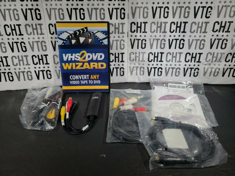 VHS To DVD Wizard Software | USB Video Capture Device Grabber | Digital Video