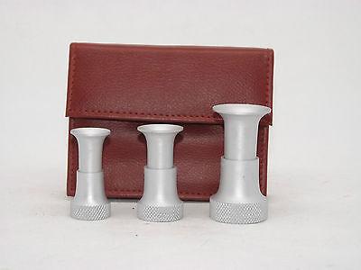 Aluminium Fly tying Hair Stacker, 3 pcs. Fly Tying Tools Kits.