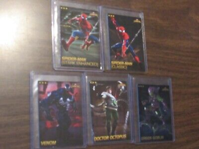 Lot of 5 Spider-Man Contest of Champions Dave & Busters Card Green Goblin Foil +
