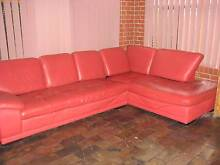 Leather Chaise Lounge Sofa Modbury Heights Tea Tree Gully Area Preview