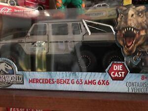 Jurassic Park Mercedes Die Cast