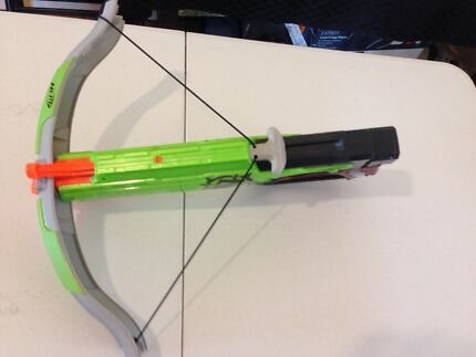 Nerf big bad bow gun soft arrow shooter