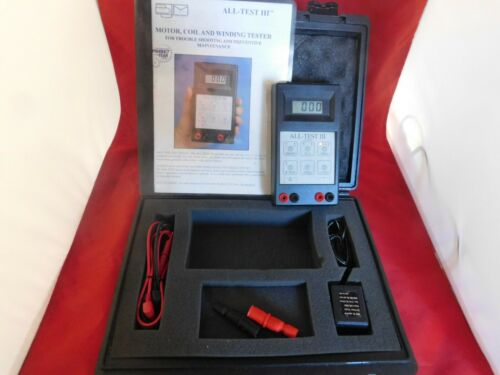 ALL-TEST III BJM Meter Motor, Coil And Winding Tester....Works Great...UNIT 3