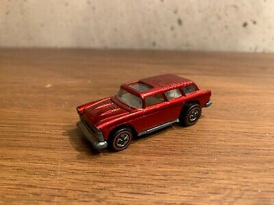 1969 Hot Wheels Red Line Classic Nomad Red