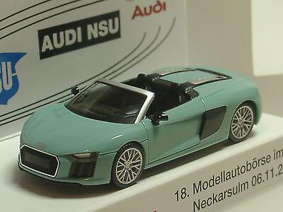 Herpa voiture Audi r8 Spyder Vegasgelb 028691