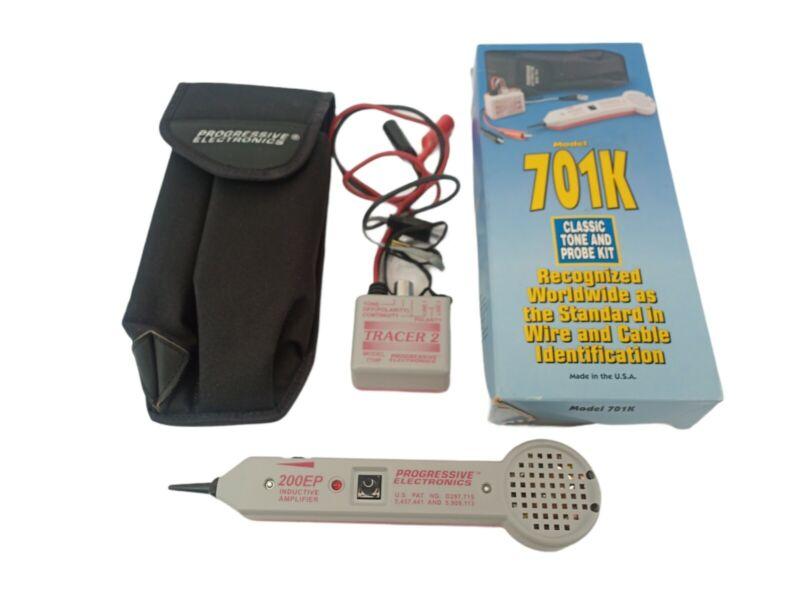 Tempo Progressive Electronics Model 701K Professional Tone and Probe Kit w/ Case