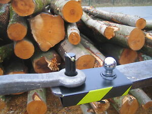 AHK Rangierhilfe Palettengabel Anhänger Stapler Forstzange 115 breit  Neu
