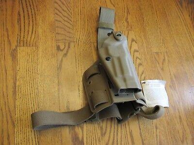 Safariland Tactical Thigh Holster (Safariland 6004-73 STX Tactical Thigh Holster, RH, Fits Beretta Mdl. 92! MINT!!  )