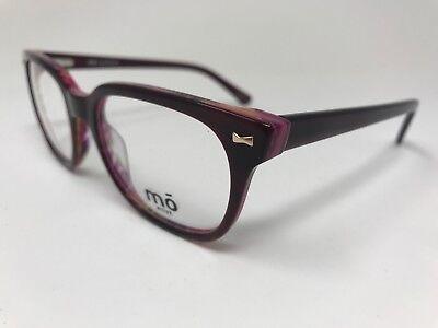 MO Eyewear Move Designer Eyeglasses Womens Mod.375A 51-19-140 Burgundy (Le Specs Eyewear)