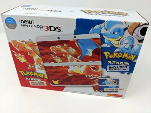 Nintendo New 3DS Pokémon 20th Anniversary Edition White KTRSWNDG