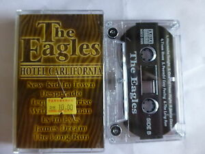 The-Eagles-Hotel-California-Asian-Release-Tape-AS-NEW-Classic-RARE