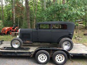 1931 FORD MODEL A TUDOR STREETROD WINTER PROJECT