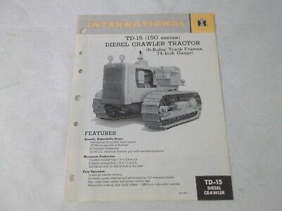 International Harvester Td-15 Diesle Crawler Manual