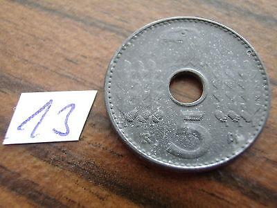 Drittes Reich Reichskreditkassen 5 Pfennig J618 1940 D ss Lochgeld Reichspfennig