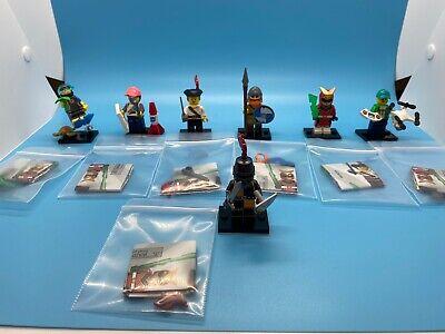 LEGO 71027 Series 20 Minifigure (7) #4,5,6,8,9,12,16 *Mint, 100% Complete* CMF